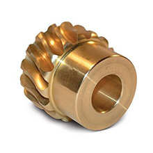Factory Machined Bronze Worm Gear with Hub
