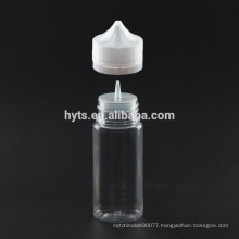 PET 60ml e-liquid dropper bottle with cap