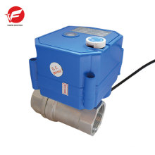 dn15 dn20 CWX-25S 12V 2-way stainless steel electric water valve