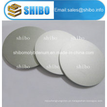 99,95% discos de molibdênio polido puro