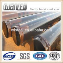fabrication de tuyau d'acier de tuyau de haute qualité / ERW ASTM A106 / A53