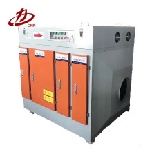 High efficiency exhaust gas purifier--low temperature plasma