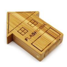 Promotion gift Wood Usb Flash Drive Bamboo Wood USB Stick 8GB 16gb,memory disk 2.0  64 GB Pendrive 16GB Logo Custom Usb