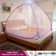 Filets de moustiquaires pour lit double avec fermeture à glissière Double porte