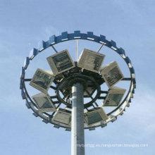 20m-30m de alto poste de iluminación de mástil