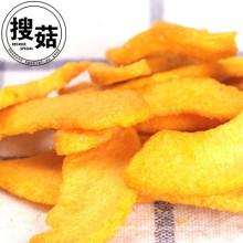 FD fruits et légumes Pêches chips FD Jaunes chips de pêche