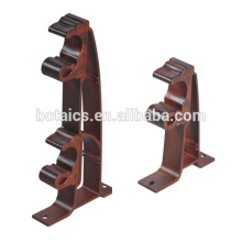 aluminum pole brackets,chinese plastic pole end cap,brackets for curtain tracks