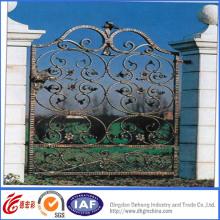 Bueatiful Puertas de seguridad decorativas de hierro forjado