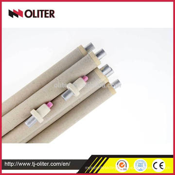 Oliter brand disposable fast b s r type pt rh thermocouple tips with triangle connector