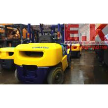 Оригинальный вилочный погрузчик с дизельным двигателем 5 тонн Подержанный Komatsu Forklift (FD50)