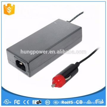 12v 8a 96w avec CE UL / cUL GS Adaptateur de prise de cigarette pour voiture de voiture FCC