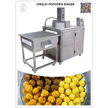 Machines à pop-corn sucrées à usage commercial