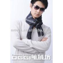 Мужские проверенные 100% кашемир шарф
