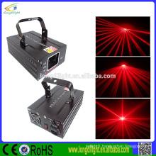 single red beam laser light