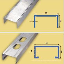 High-Speed-50-70-100 Profil Maschine angehalten Decke Kanal Profiliermaschine