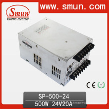 Fonte de alimentação de 500W 24V de alta eficiência com Pfc