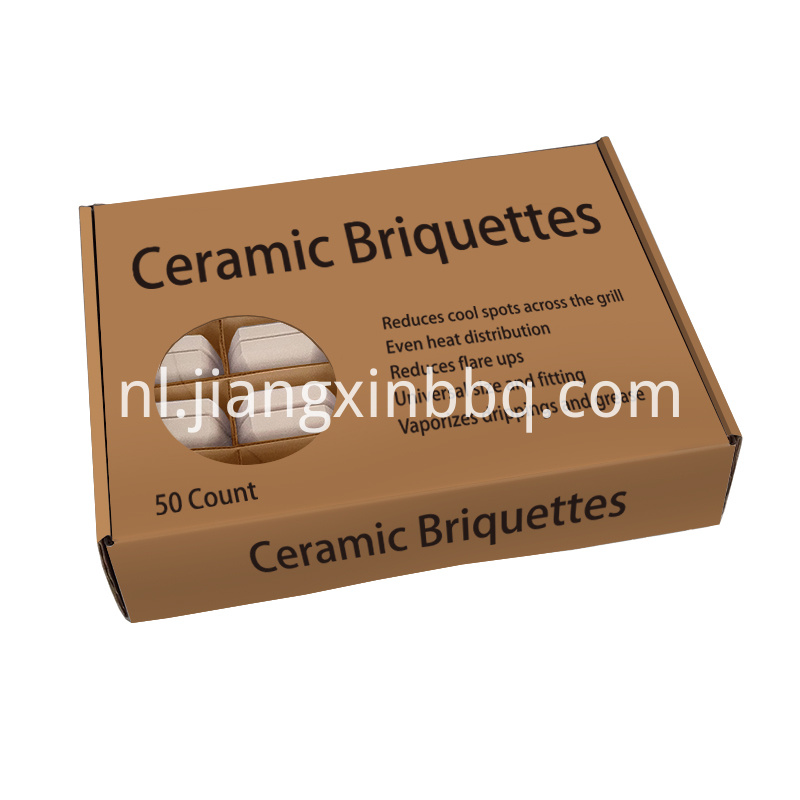 50 Count Ceramic Briquettes Package