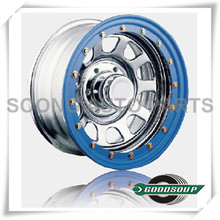 "Daytona-Beadlock Wheels GS-204-2F Steel Wheel from 15"" to 17"" with different PCD, Offset and Vent hole"