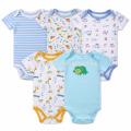 Neugeborene Baby-Kleidung gekämmt Bio-Baumwolle Baby Strampler für den Sommer