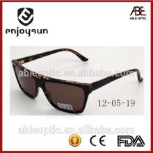 Дамский коричневый цвет ручной работы ацетат солнцезащитные очки 2015
