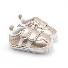 Designer Shoes China Manufacturer Babe Infant Shoes Soft PU Two Buckle