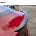 Carbon-Fiber Rear Spoiler Wing Trunk Lip Cover car