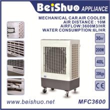 Refrigerador do ar da água do equipamento de refrigeração 200W / refrigerador de ar industrial com certificado do Ce