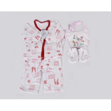 4 Pcs Economic Newborn Baby Clothes Gift Sets