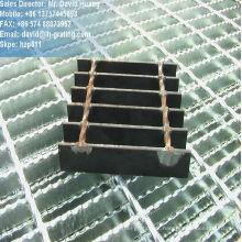 Grade de arame de aço galvanizado para piso passarela