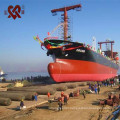 Factory directly sales D=0.5m-2.0m L=5m-18m marine ship rubber airbag