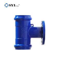 Ductile Iron PVC pipes Fittings for water or sewerage pipeline projects