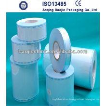 Esterilización de sellado térmico Autoclave Reel