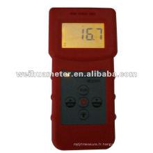 Humidimètre avec rétro-éclairage inductif Humidimètre Numérique Bois Bambou Humidimètre Numérique Bois Humidimètre MS310