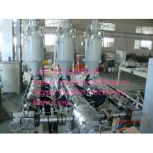 Ligne renforcée d'extrusion de tuyaux de pp pp de Glassfiber, machines pour des tuyaux, machines d'extrusion de tuyau de pp.