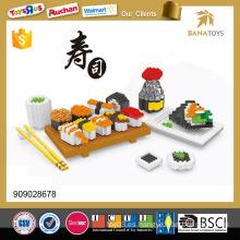 Super Sushi combo 1400PCS rompecabezas de bloques de construcción diy juguete