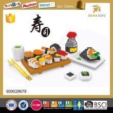 Super Sushi combo 1400PCS construção de quebra-cabeça de brinquedo de brinquedo de design diy