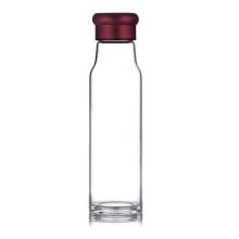Botella de agua hecha a mano del vidrio de Borosilicate
