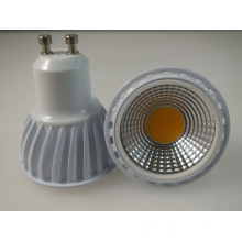 6W COB LED Light GU10 (Black/white/Silver shell optional)