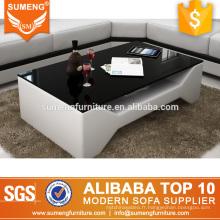 SUMENG hôtel meubles en gros multifonction verre table basse pièces