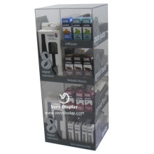Customized acrylic e-cigarette display shelves