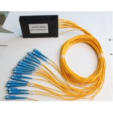 FTTH ABS Box Optic Splitter com conector SC