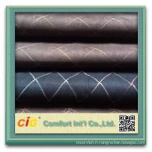 tissu en faux daim / tissu en daim sherpa / 100 tissu en daim polyester