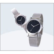 Stainless Steel Couple Watch, Quartz Lover Watch 15177
