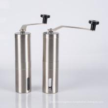 hand crank stainless steel manual coffee grinder