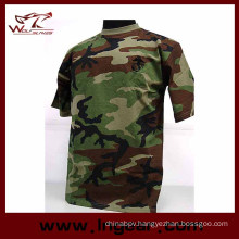 Military Tactical Fashion Camouflage Short Sleeve T-Shirt Catton T-Shirt Fashion