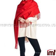 100% Lammwolle Frauen übergroßer großer Schal Schal (verschiedene Farben und Designs)
