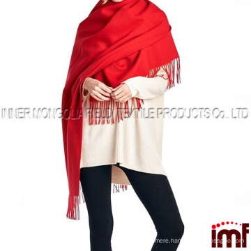 100% Lambswool Women Oversized Large Scarf Shawl (Various Colors and Designs)
