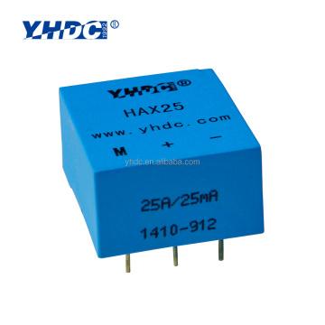 Closed Loop Hall Current Sensor 5A,6A, 8A, 12A, 25A/ HAX25