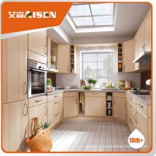 Cabinet de cuisine à paroi pvc à prix raisonnable et acceptable
