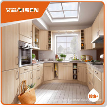 Reasonable & acceptable price pvc door kitchen cabinet